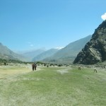 Walking south besides the Kali Gandaki 2013 S Barakzai